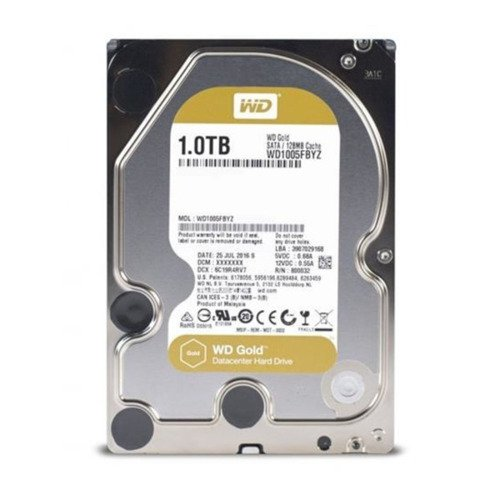 Merevlemez Western Digital GOLD 3.5'' HDD 1TB 7200RPM SATA 6Gb/s 128MB | WD1005FBYZ