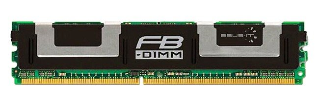 RAM memória 1x 1GB Hynix ECC FULLY BUFFERED DDR2 667MHz PC2-5300 FBDIMM | HYMP512F72CP8D3-Y5